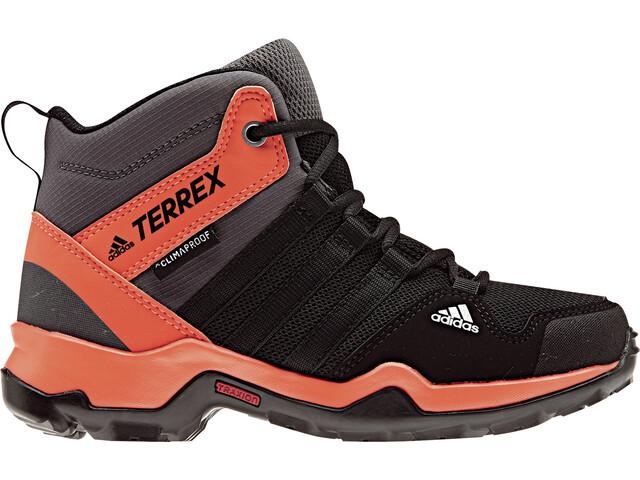 adidas TERREX AX2R ClimaProof Shoes Children orange black at ... af967d5d056
